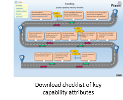 Capability maturity checklist assessment for project funding